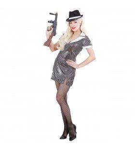 Gangstermeisje Ms Gangster Kostuum Vrouw