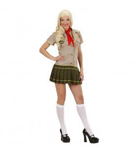 Padvinder Scouting Girl Kostuum Vrouw