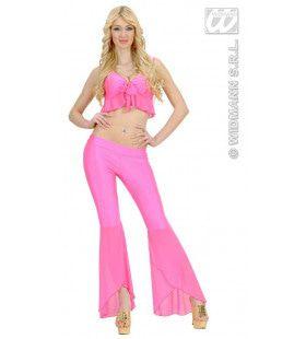 Samba Top En Broek Neon Rose Vibes Kostuum Vrouw