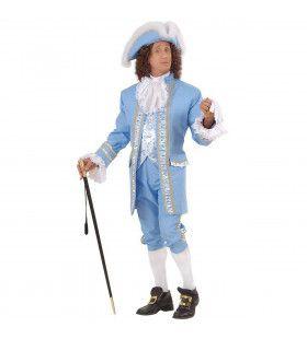 Victoriaanse Britse Hofheer 18e Eeuw Kostuum Man