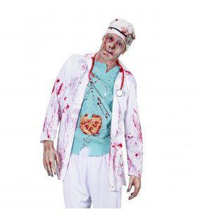 Zombie Dokter Zombie Chirurg Volwassen Medium / Large Kostuum Man