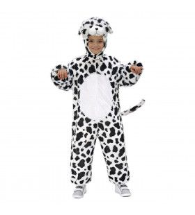 Full-Body Pluche Dalmatier Kind Kostuum