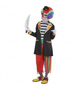 Kwaadaardige Clown Horror Circus Volwassen Kostuum Man