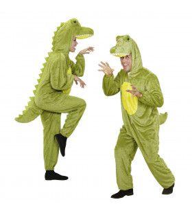 Full-Body Pluche Krokodil Volwassen Kostuum