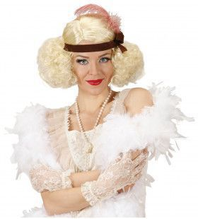 Pruik Burlesque Blond