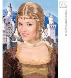 Pruik, Middeleeuwse Prinses