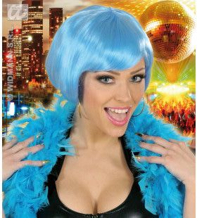 Pruik, Valentina Lichtblauw