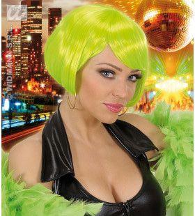 Pruik, Valentina Neon Groen