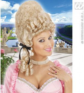 Pruik, Versailles Blond