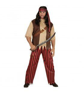 Bukanero Piraat Kostuum