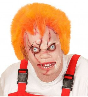 Chucky Masker Killer Doll Met Haar