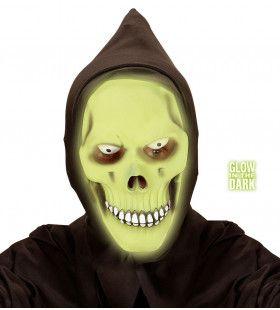 Masker Gimreaper, Groen Lichtgevend In Donker Night Light