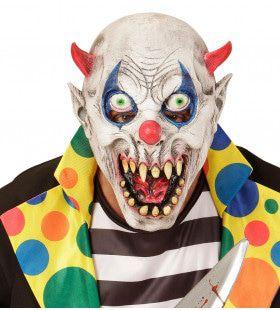 Masker Duivelse Clown Uit Het Enge Circus