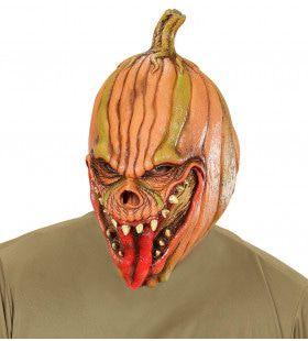 Masker Kwade Pompoen Uit Het Veld