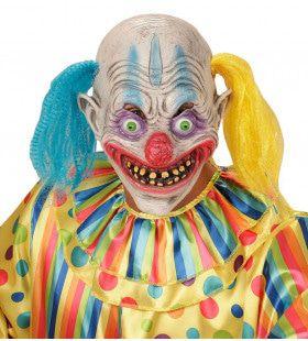 Masker Psychopaat Clown Met Haar Circus Slechte Droom