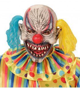 Masker Slechte Clown Met Haar Circus Slechte Droom