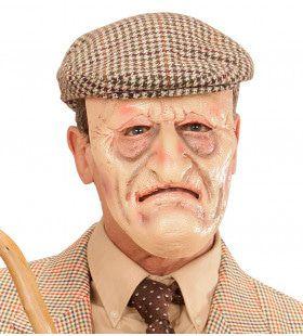 Franse Man Masker Op Foam