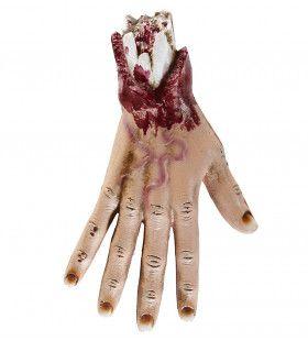 Horror Attribuut Afgerukte Hand