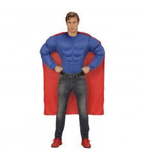 Amerikaanse Superheld Held Super Power Kostuum