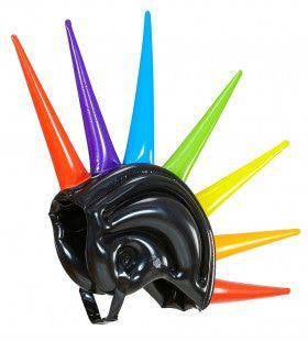 Fantasie Opblaasbare Meerkleurige Helm
