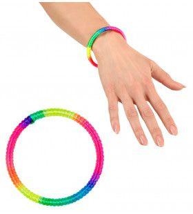 Rock Chick Armband Neon Multikleuren