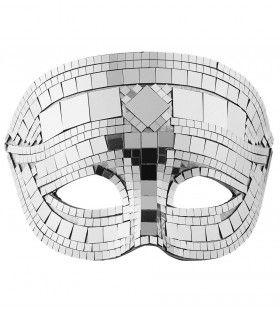 Masker Disco Zilver Dancing Hottie