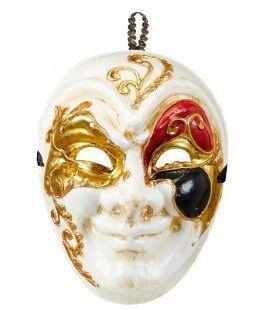 Klassiek Luxe Venetiemasker, Ondeugend