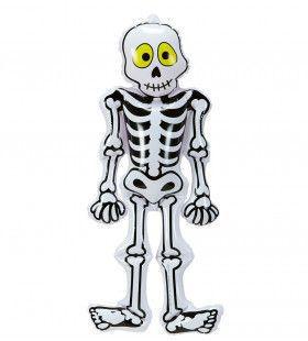 Schattig Opblaasbaar Skelet, 56 Centimeter