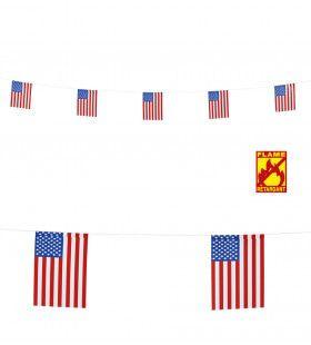 Landenthema Vlaggenlijn 6mtr, Usa