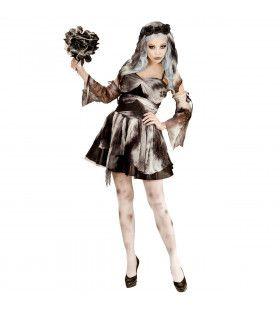 Klassieke Dode Bruid Vrouw Kostuum