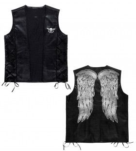 Terror Mc Lederlook Vest