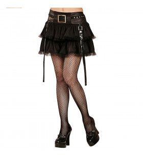 Korte Zwarte Rok, Gothic / Punk / Rock Vrouw