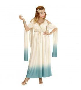Mytische Koningin Van Atlantis Vrouw Kostuum