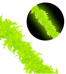 New York City Boa 180 Centimeter Neon Groen
