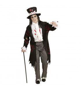 Cockney Zombie Bruidegom Man Kostuum