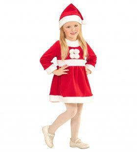 Vrolijk Kerstmeisje Kostuum