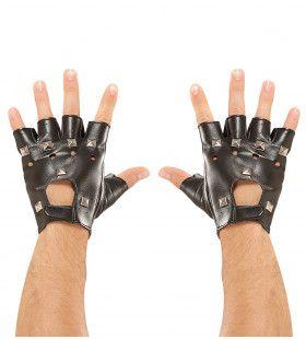 Rocker Handschoenen Met Nagels