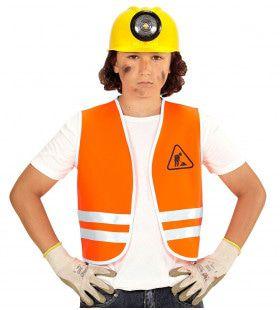 Oranje Wegwerker Vest, Kind