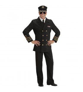 Traditionele Marine Officier Man Kostuum