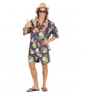 Hang Loose Hawaiiaanse Man Kostuum