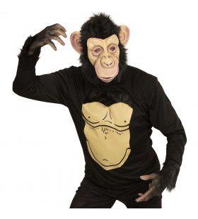Grappige Chimpansee Man Kostuum