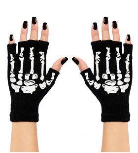Botten Vingerloze Handschoen Skelet