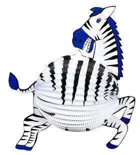 Zebra Lampion 42cm
