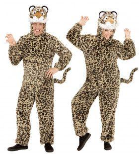 Dieren Onesie Pluche Luipaard Kostuum