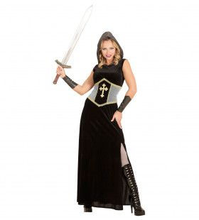 Madame Joan Of Arc (Lang) Vrouw Kostuum