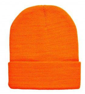 Gooffey Beanie Neon Oranje