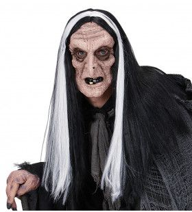 Masker Heks Met Haar Kurkuma