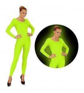 Neon Groen Bodysuit Glow Vrouw Kostuum