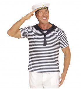 Marine Set Volwassen Sammy Kostuum