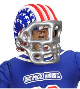 American Football Helm Opblaasbaar USA Star And Stripes